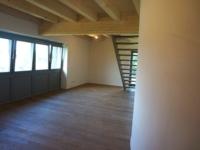 EVI_Wohn-Essbereich mit Holzdecke